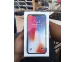 iphone X de 256 silver