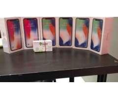 Iphone X silver de 256GB sellados desbloqueados / somo tienda / @Trendsmartphone