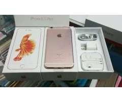 iPhone 6S+ PLuS 64GB RoSe GoLD NUEVOS GaRaNTiA Somos TiENDa @BLuE MoBiLe RD