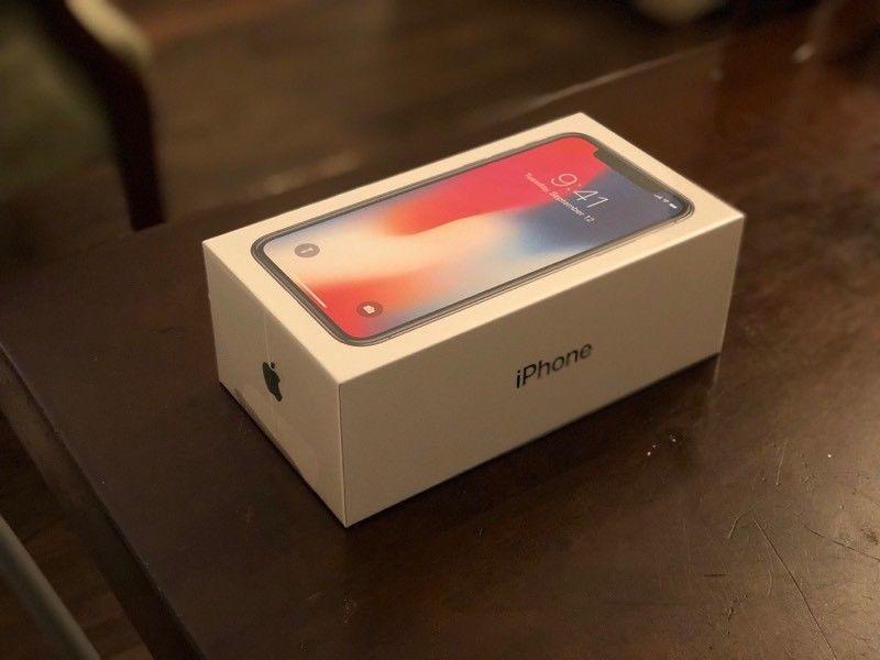 Apple iPhone X 256GB Space Grey Verizon UNLOCKED