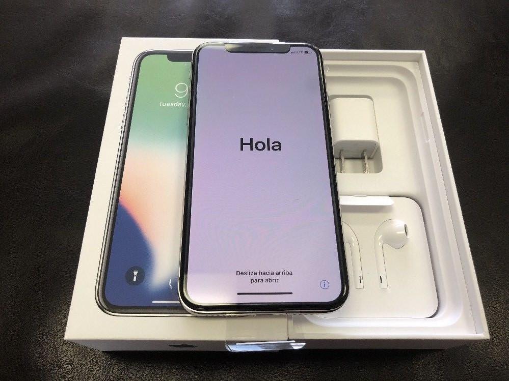 Iphone X De 256Gb,64gb,iPhone 8,8 Plus 64Gb Nuevo,Plateado,Negro,Dorado Americano Desbloqueado