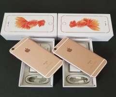 IPHONE 6S ROSE DE 64GB + GARANTÍA