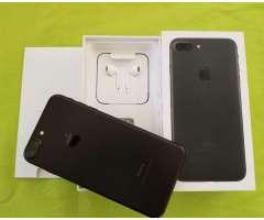 IPHONE 7 BLACK MATTE DE 128GB - FACTORY UNLOCKED
