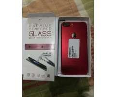 iPhone 7 Plus Red 256 GB nuevo Con su visa