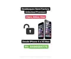 Desbloquea tu telefono con metodo semifactory cualquier IPHONE del 4 al XS MAX