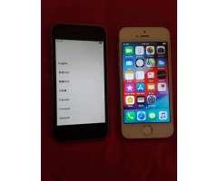 2 iphone 5 uno bloquiado