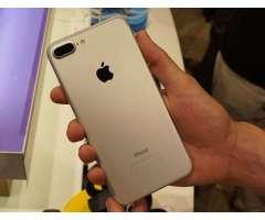 iphone 7 plus 128gb// + CARGADOR