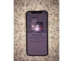 iphone X 256GB Silver Desbloqueado