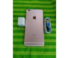 Iphone 6s plus 64gb rosado desbloqueado