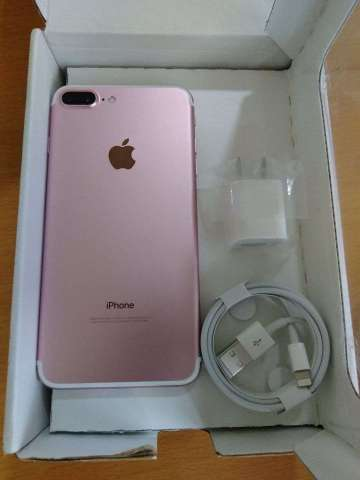 Iphone 7 plus 32gb rosado desbloqueado