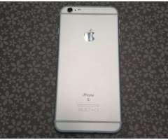 iphone 6s plus 64gb/ NEGRA