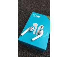 Audífonos Bluetooth i11 touch nuevos