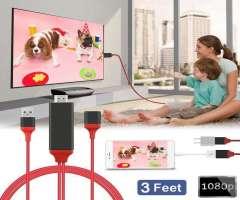 Adaptador Cable De Video Universal Mhl Hdmi Para Todo Celular / Iphone Android
