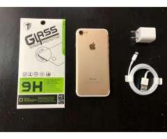 iPhone 7 32GB Gold desbloqueado de fabrica