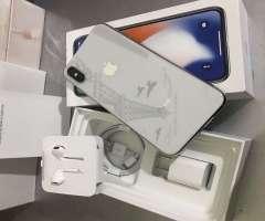 iPhone X - COMO NUEVO - 64GB - SILVER CLEAN IMEI