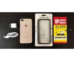 iPhone 8 Plus 64GB Gold desbloqueado de fabrica
