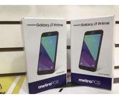 samsung galaxy j7 prime nuevos sellados