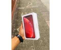 IPHONE XR 64GB SELLADO ROJO FACTORY
