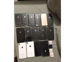 iPhone 8 64,128,, iPhone XR 64,128,256 galaxy s10 y s10+