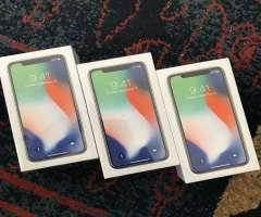iPhone X - NUEVOS SELLADOS - 64GB - SILVER CLEAN IMEI