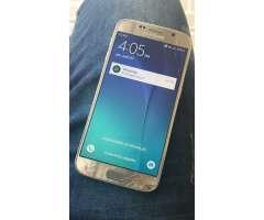 Samsung Galaxy S6 Gold de 32 GB y huella