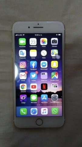 Vendo iPhone 7 Plus de 128GB factory color dorado precio negociable