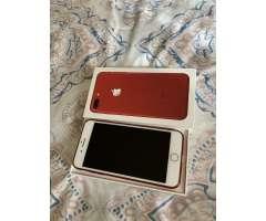 iphone 8 Plus 256GB Desbloqueado Rojo Nuevo