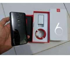 OnePlus 6 [64GB / 6GB RAM] En Su Caja