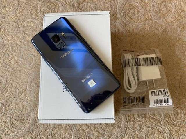 Samsung galaxy s9  azul nuevo 0km