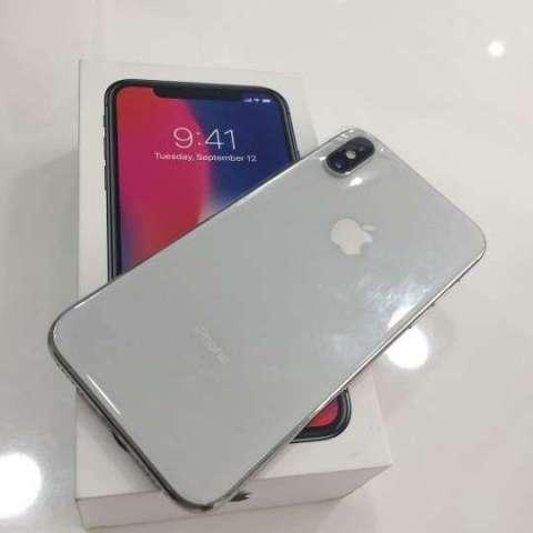 iphone x 256 GB factory full blanco