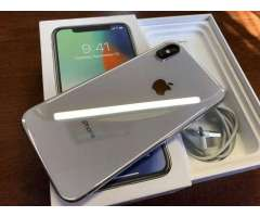 iPhone x 64 gb factory full blanco