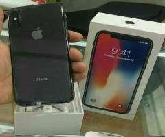 iphone x 64GB factory negro
