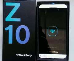 BlackBerry Z10 nuevos en sus cajas blanco.