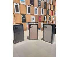 iphone 11 pro max 64GB nuevos sellados, factory unlock, todos los colores