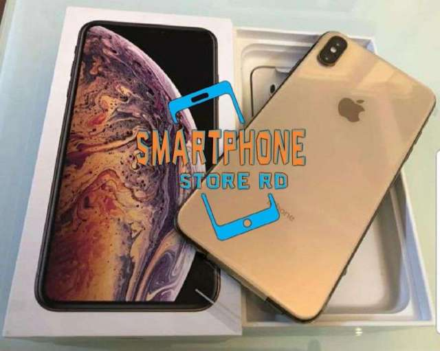 Iphone xs max 256gb dorado