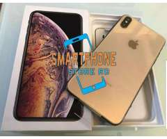 Iphone xs max 256gb dorado