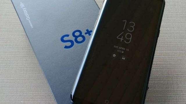 Samsung Galaxy S8 plus 64gb Negro/Black