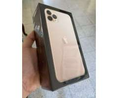 iPhone 11 pro max gold sellado factory
