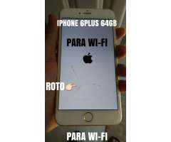 IPHONE 6PLUS 64GB PARA WI-FI
