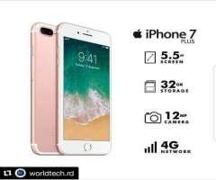 Iphone 7 plus de 32gb Factory