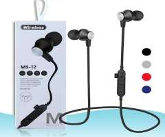 Auriculares Bluetooth MS-12 Wireless