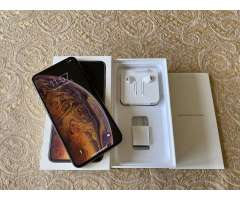 Iphone xs max gold 256gb factory unlock
