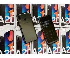 SAMSUNG A20E 32GB NUEVOS