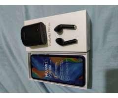 Huawei p30 Lite + airpod IT7 negros