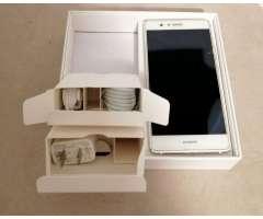 Huawei p9 lite blanco en excelentes condiciones con todos sus accesorios