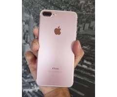 IPHONE 7 PLUS ROSE 32GB EXCELENTE